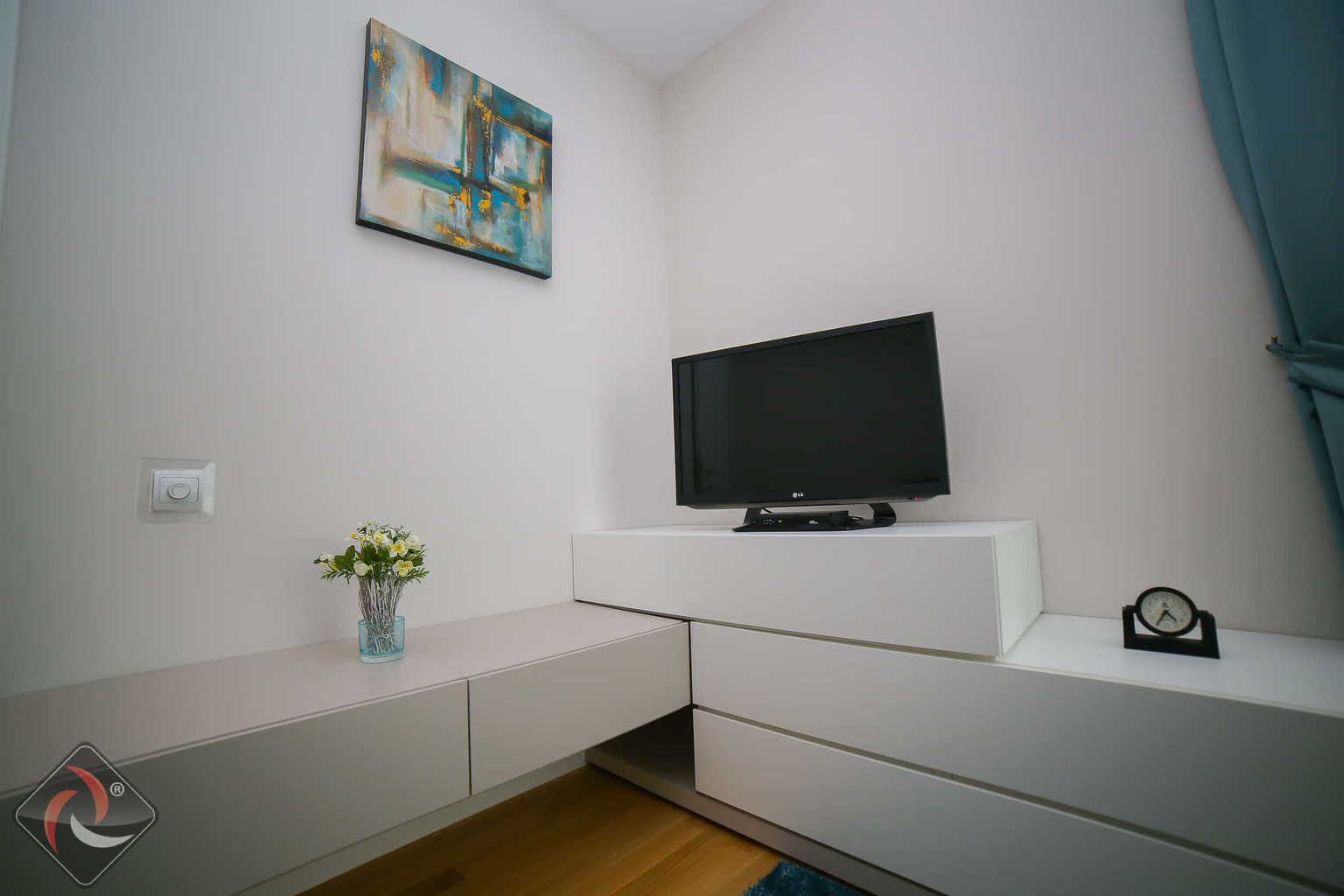 Room corner shot