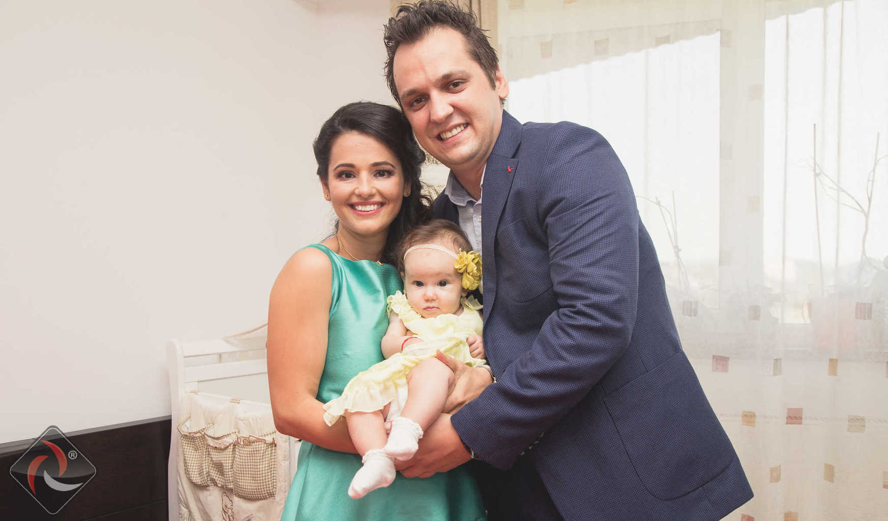 Happy family - CHRISTENING photography