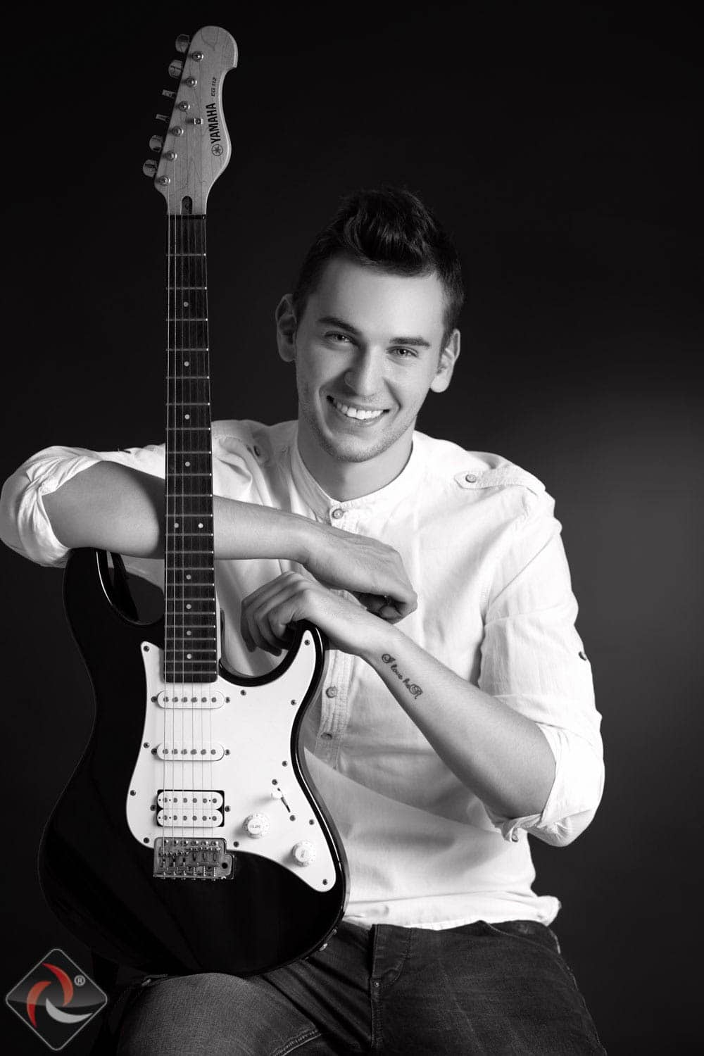 Guitarist - Modeling Photoshoot
