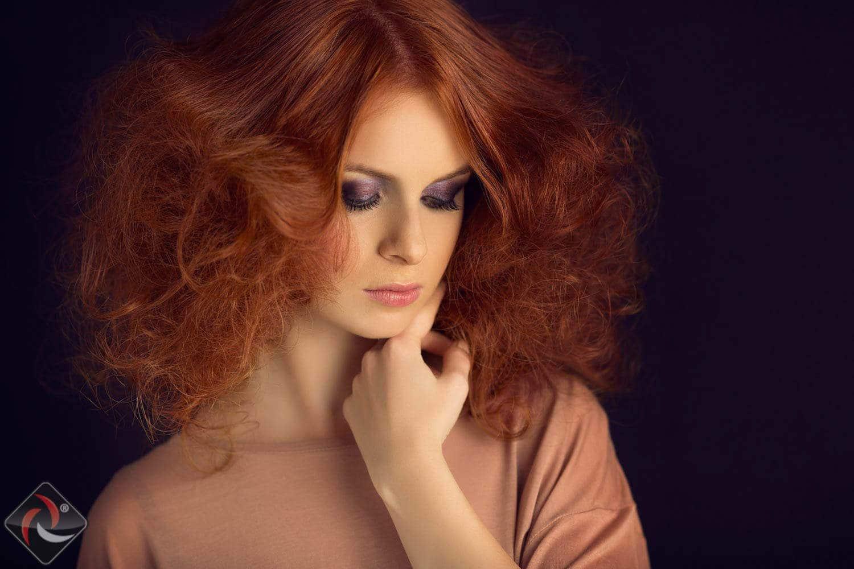 Redhead Girl - Modeling Photoshoot